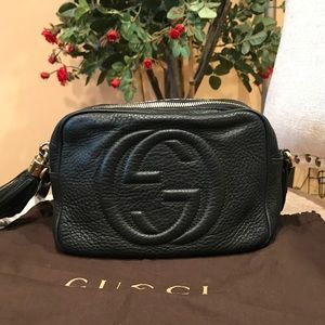 100% Authentic Gucci Soho Disco crossbody bag
